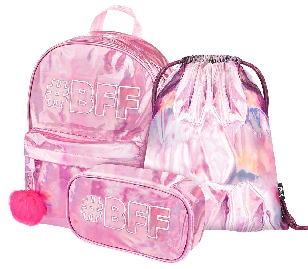 Baagl Školní set Fun BFF A-30412 26 L růžová