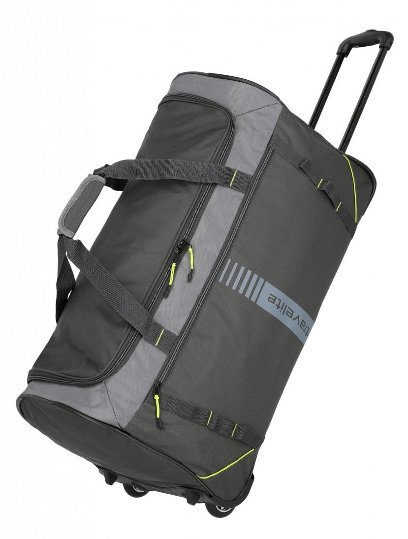 Cestovní taška na kolečkách Travelite Active 96281-04 86 L antracitová
