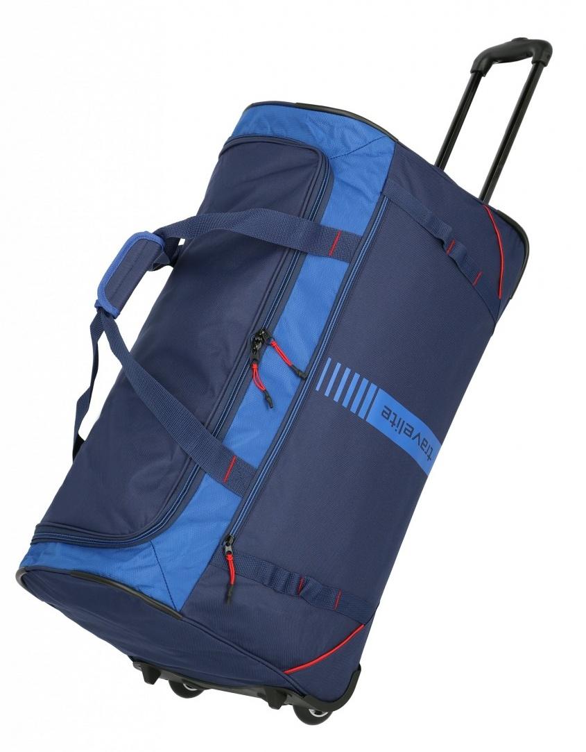 Cestovní taška na kolečkách Travelite Active 96281-20 86 L modrá