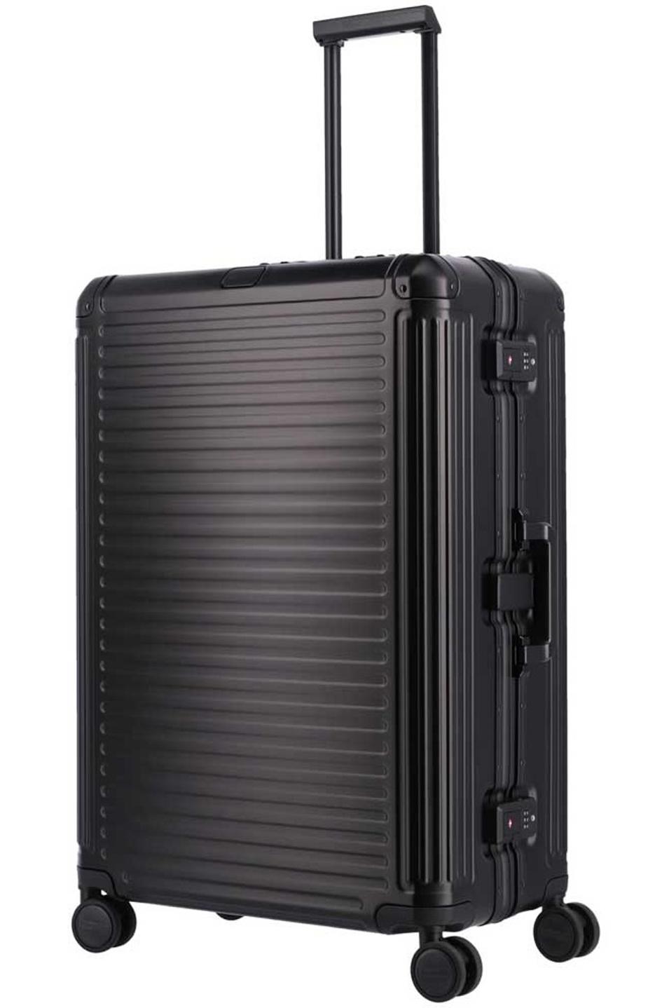 Cestovní kufr Travelite NEXT 4W L 79949-01 100 L černá