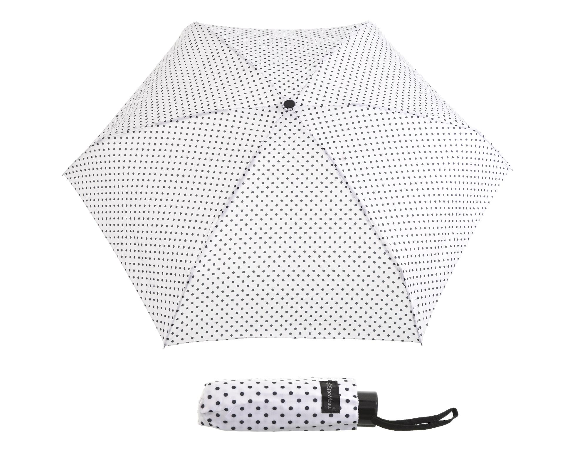 Deštník Snowball mini aluminium