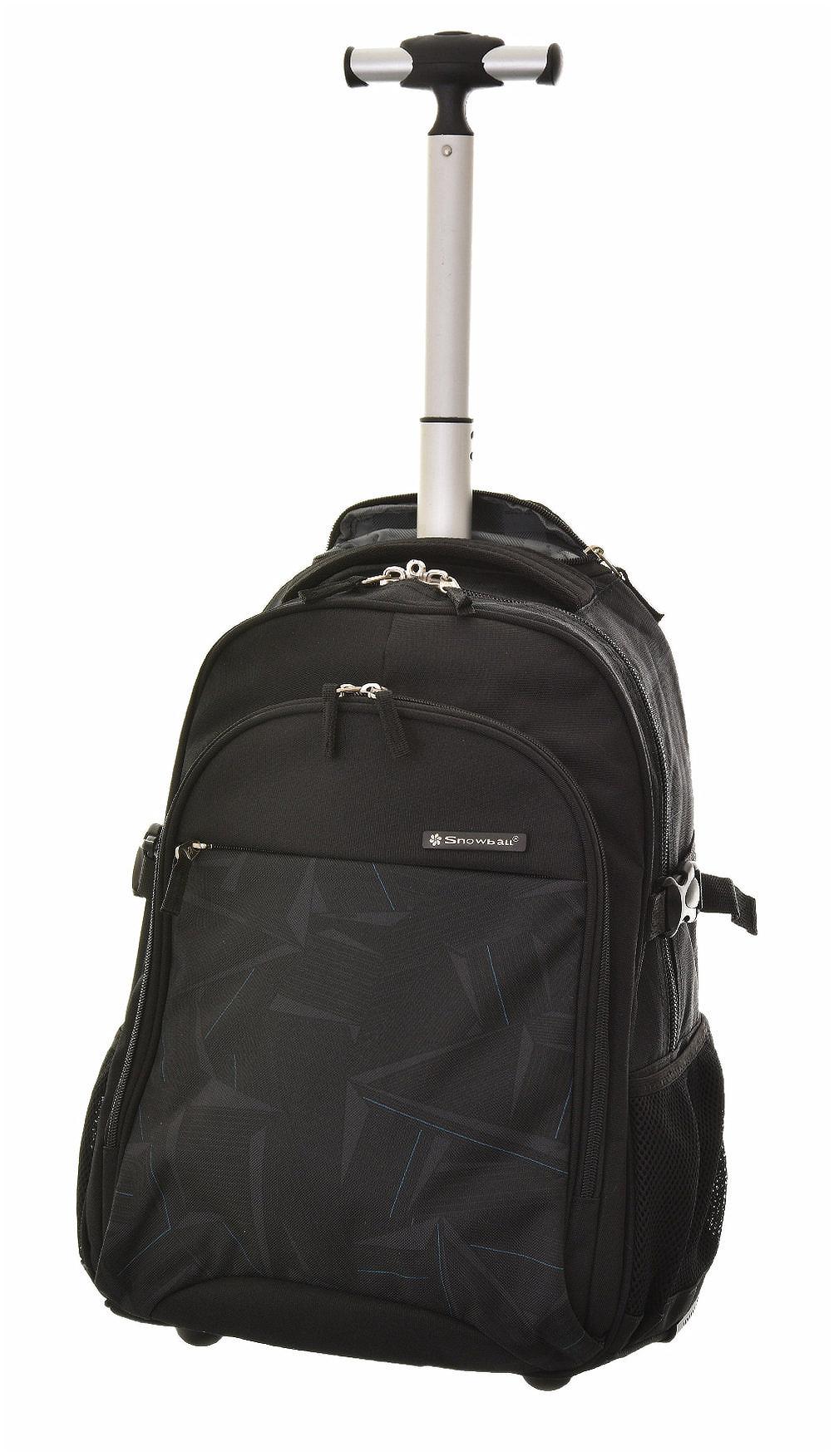 Batoh na kolečkách Snowball 2W F58045-96 30 L černá