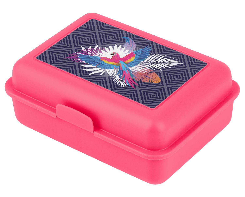 BAAGL Box na svačinu Papoušek A-8490 růžová