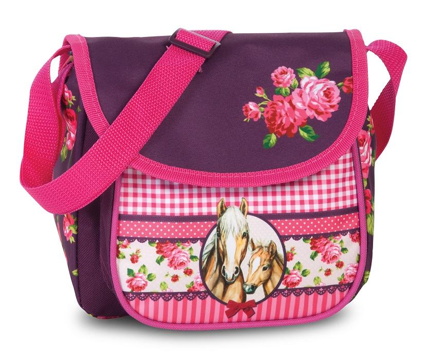 Fabrizio Dětská taška koníci 20617-2200 5 L růžová