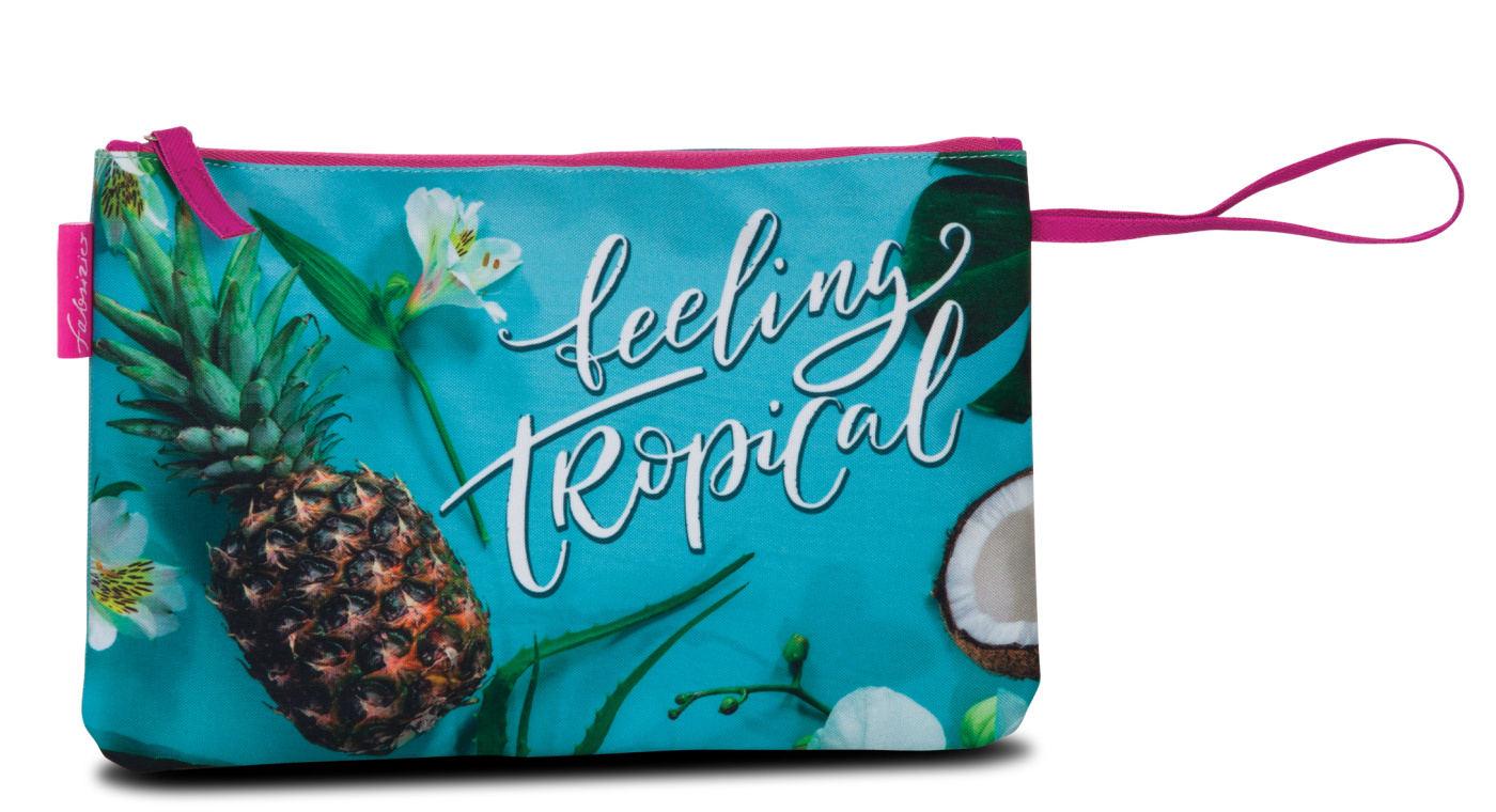 Bikiny taška Fabrizio Tropical 50376-2300 tyrkysová