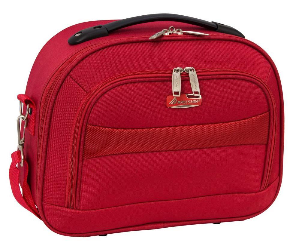 Kosmetický kufřík Madisson M A44835A-02 10 L červená