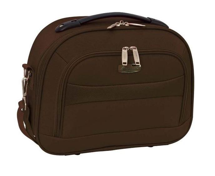 Kosmetický kufřík Madisson M A44835A-25 10 L hnědá