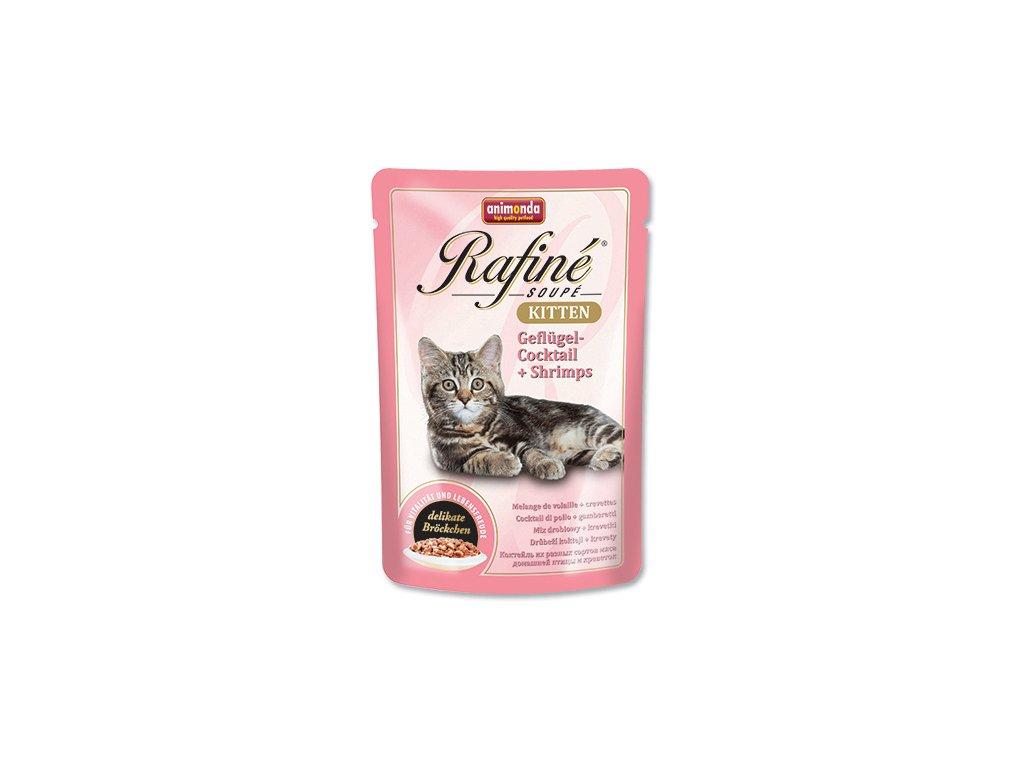 Animonda Rafine Soupe cat kaps. Junior drůbeží, ráčci 100 g