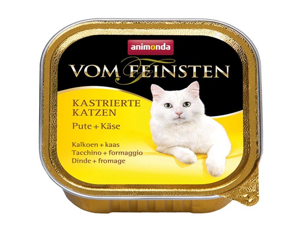 Animonda VomFeinsten cat van. Kastrát krůta, sýr 100 g