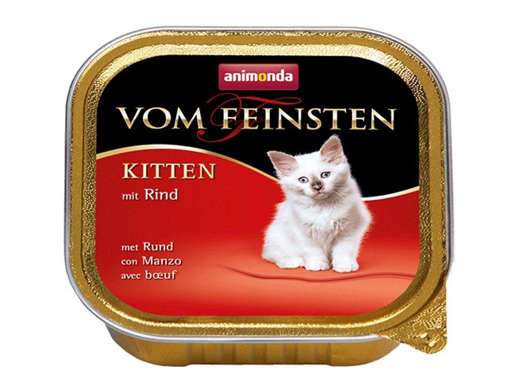 Animonda VomFeinsten cat van. Koťata hovězí 100 g