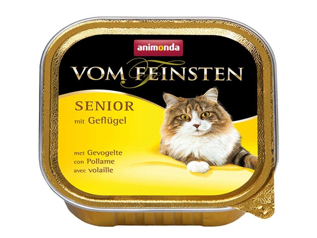 Animonda VomFeinsten cat van. Senior drůbeží 100 g
