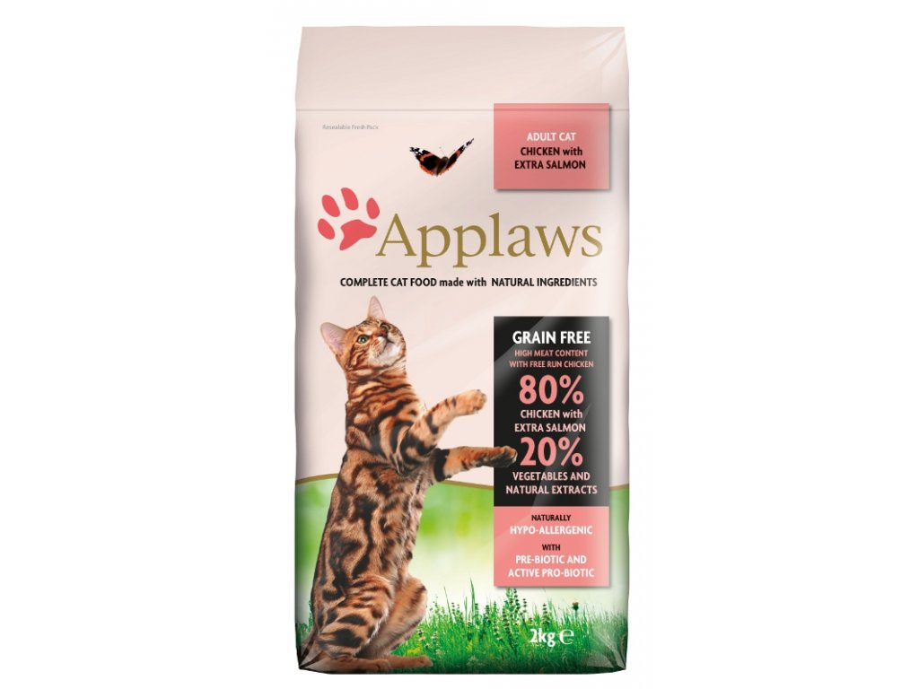 Applaws Cat Dry Adult Salmon 2 kg