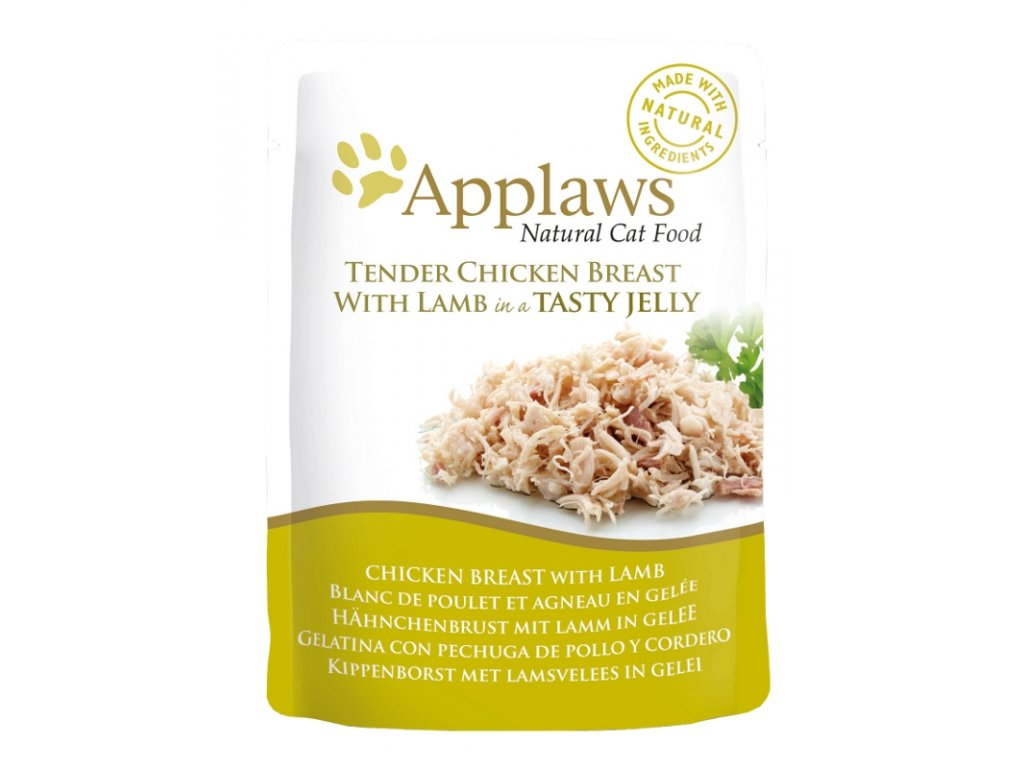 Applaws Cat kaps. kuře a jehněčí v aspiku 70 g