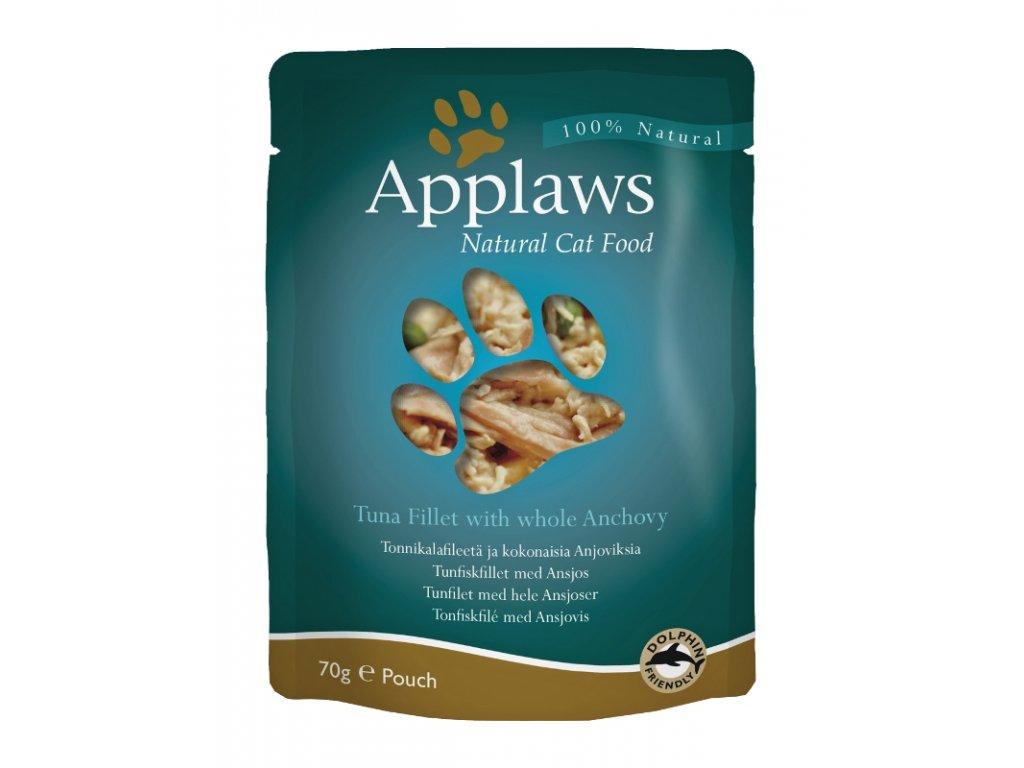 Applaws Cat kaps. tuňák a celé ančovičky 70 g