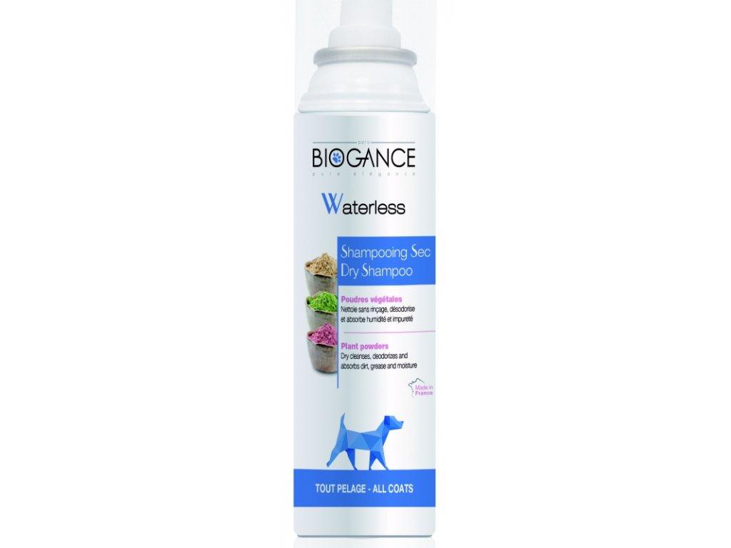 BIOGANCE WATERLESS DOG SUCHÝ ŠAMPON PRO PSY 150 ML