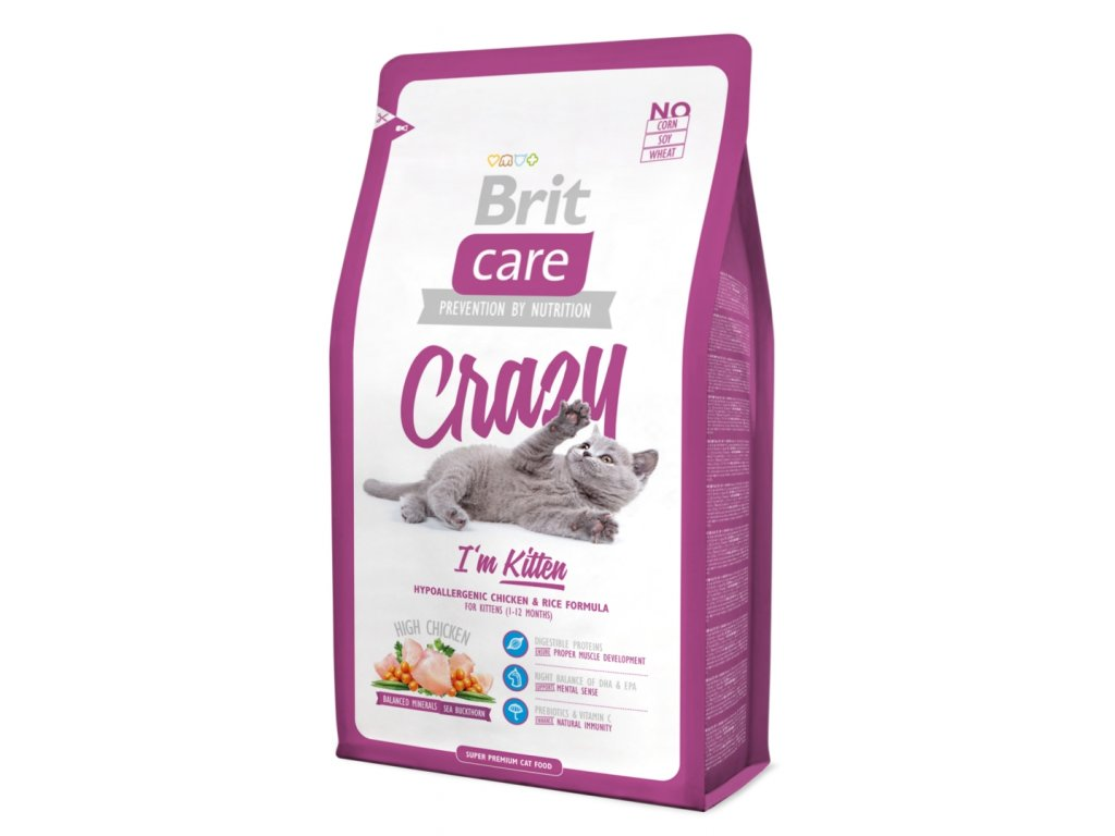 Brit Care Cat Crazy I´m Kitten 0,4 kg
