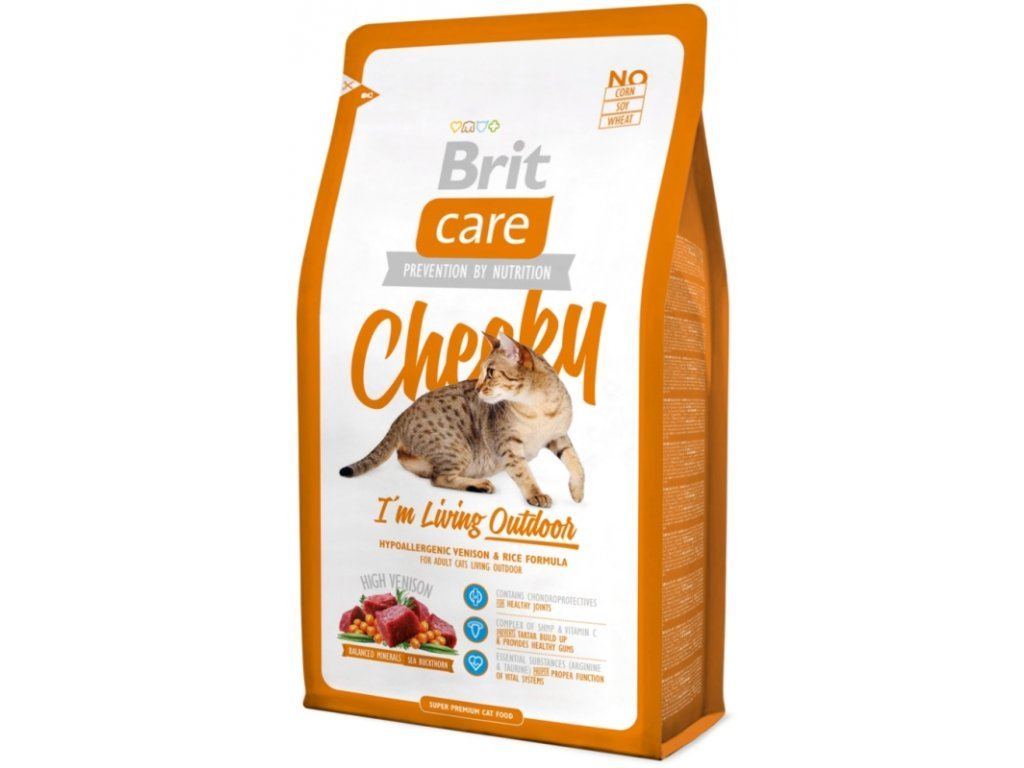 Brit Care Cat Cheeky I´m Living Outdoor 0,4 kg