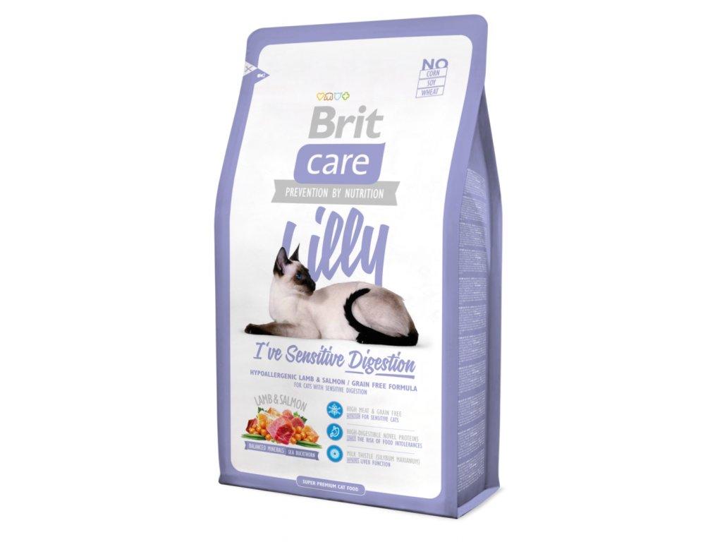 Brit Care Cat Lilly I´ve Sensitive Digestion 0,4 kg