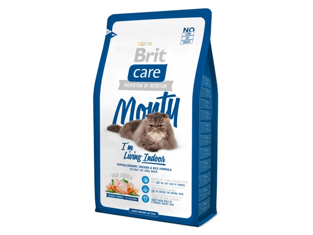 Brit Care Cat Monty I´m Living Indoor 0,4 kg