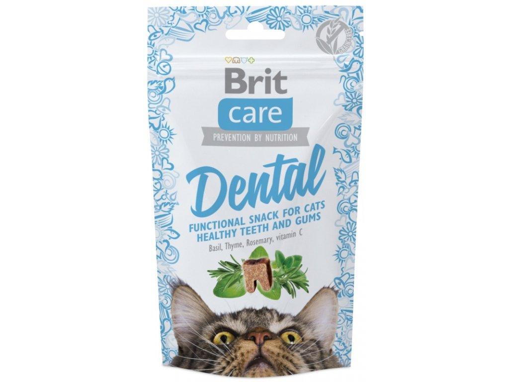 Brit Care Cat Snack Dental 50 g