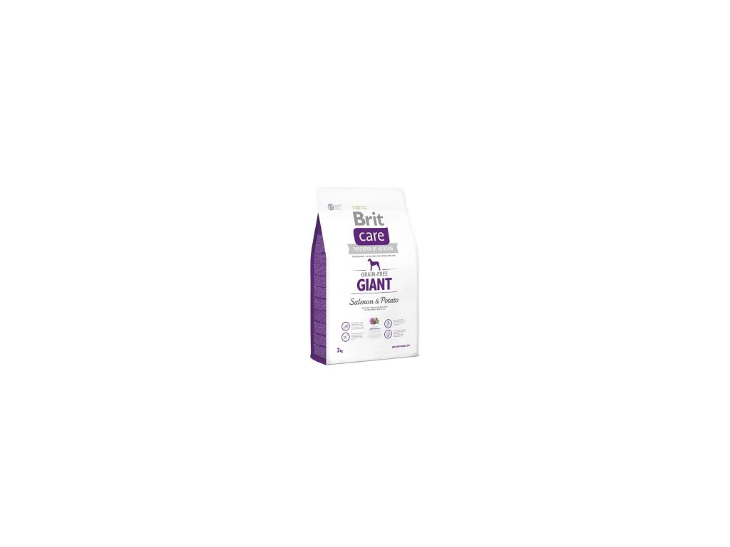 Brit Care Grain Free Dog Adult Giant S & P 3 kg