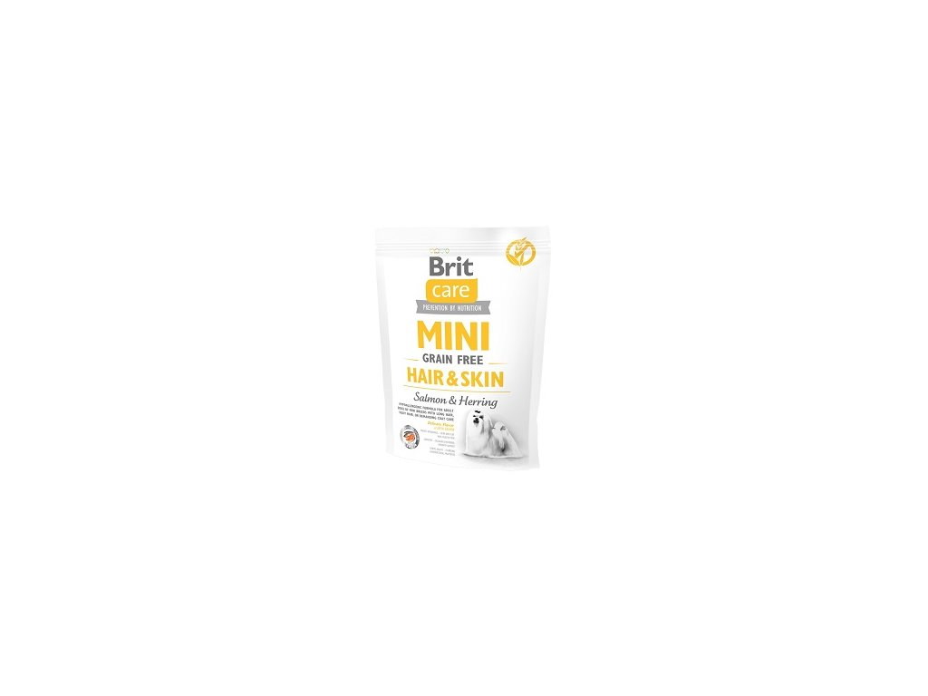Brit Care Mini Dog Hair & Skin 0,4 kg