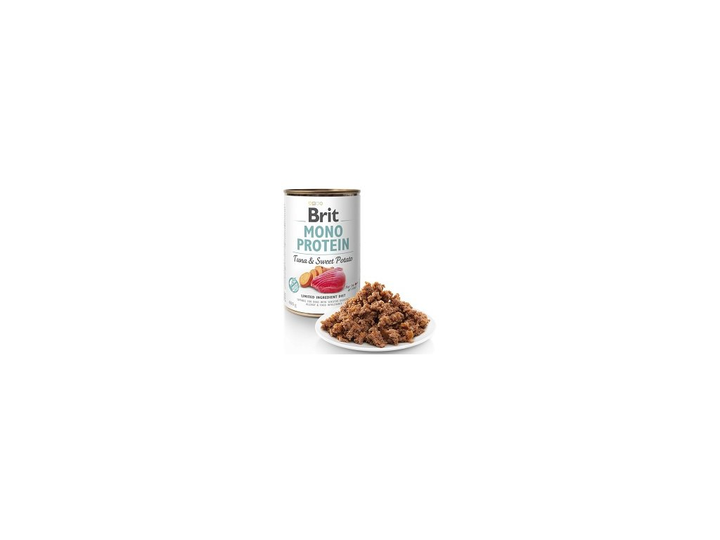 BRIT MONO PROTEIN KONZ. TUNA & SWEET POTATO 400 G ZB003439