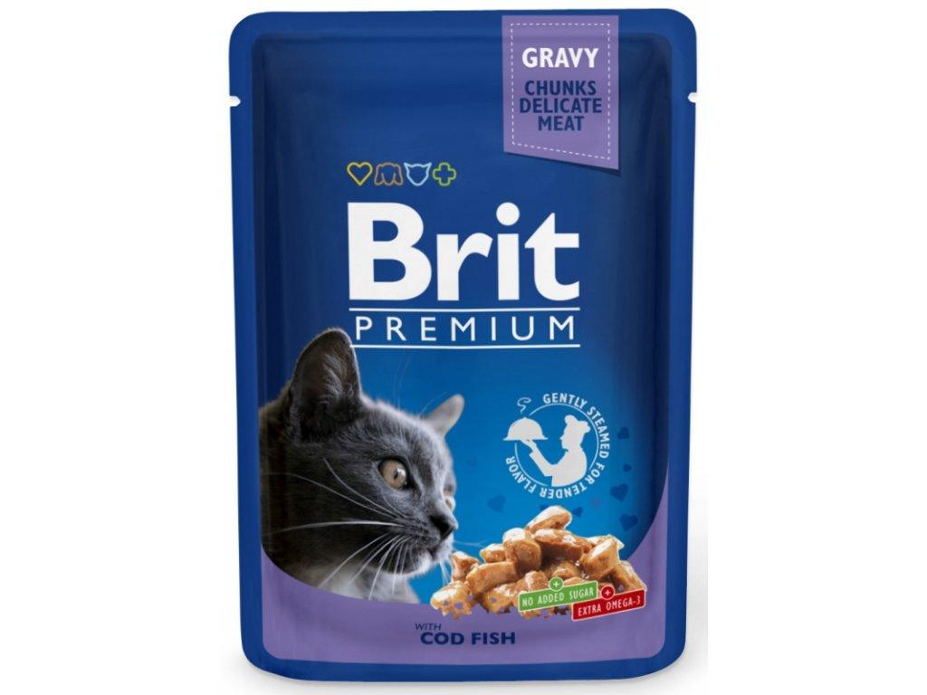 Brit Premium Cat kaps. Gravy Cod Fish 100 g