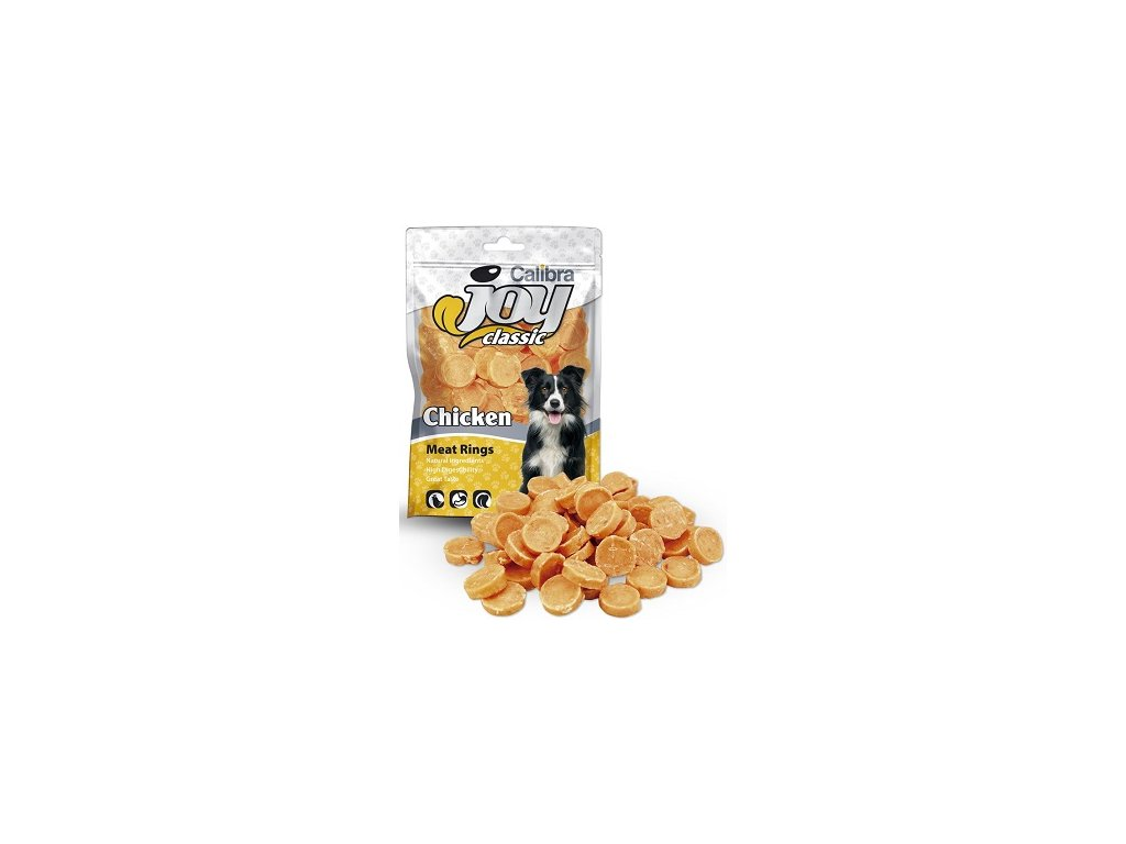 Calibra Joy Classic Chicken Rings 80 g