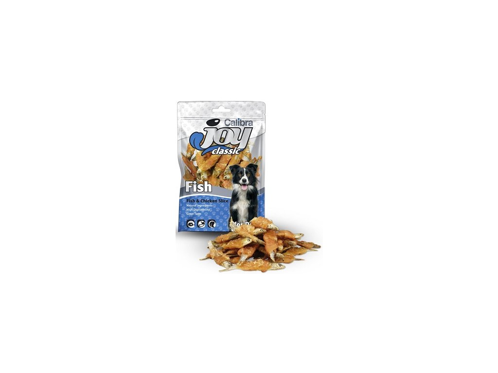 Calibra Joy Classic Fish & Chicken Slice 80 g