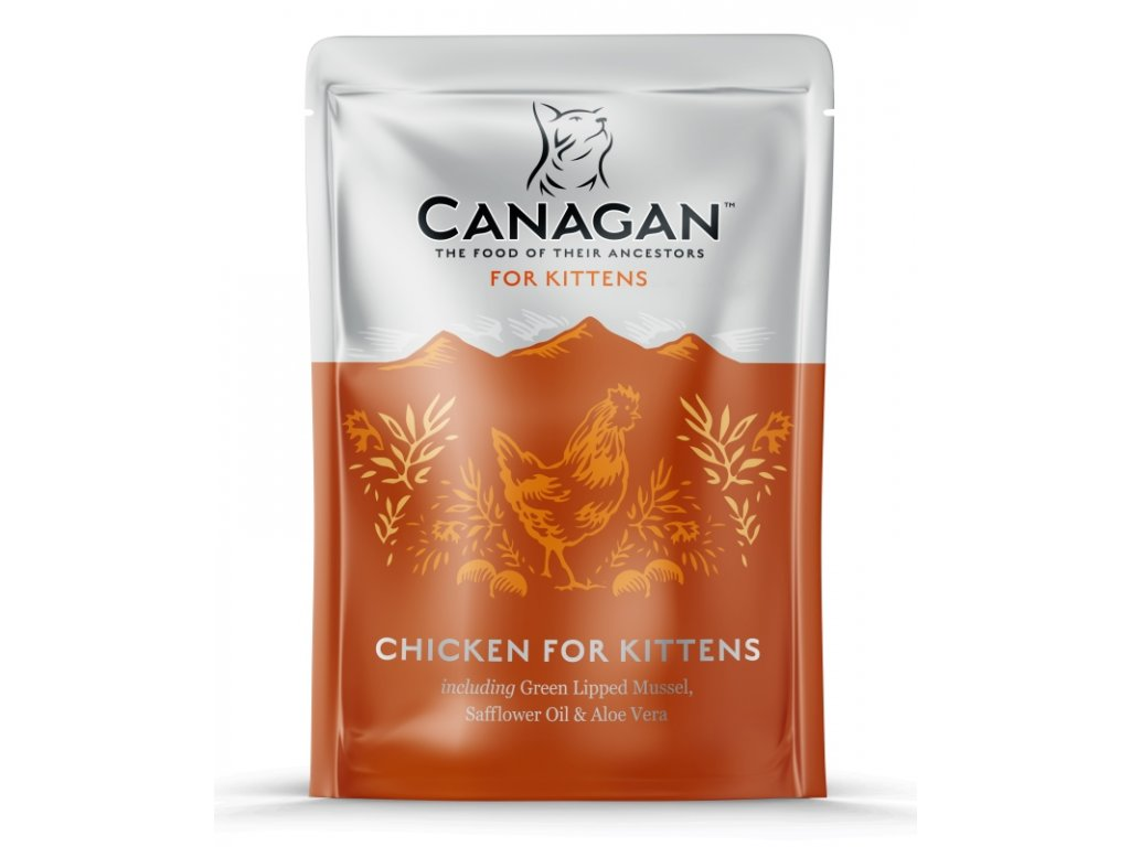 Canagan Cat kaps. Kitten kuře 85 g