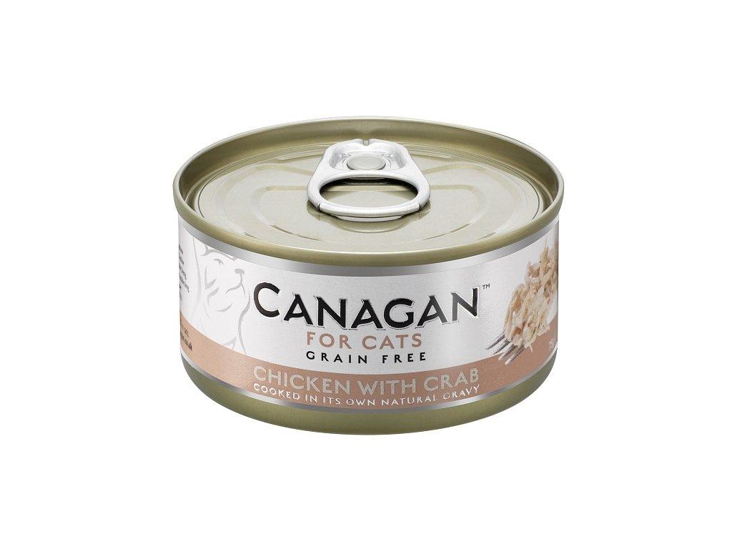 Canagan Cat konz. Kuře a Krab 75 g