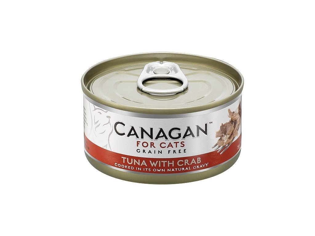 Canagan Cat konz. Tuňák a Krab 75 g