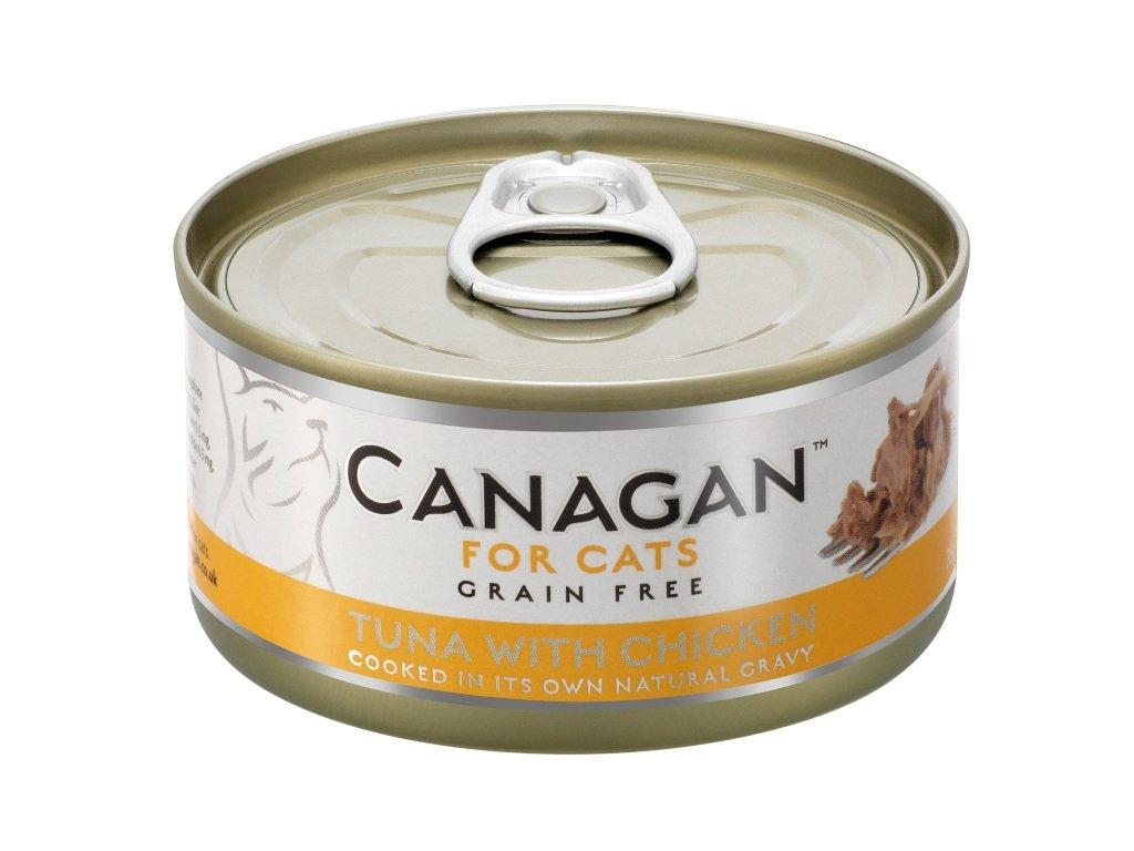 Canagan Cat konz. Tuňák a kuře 75 g