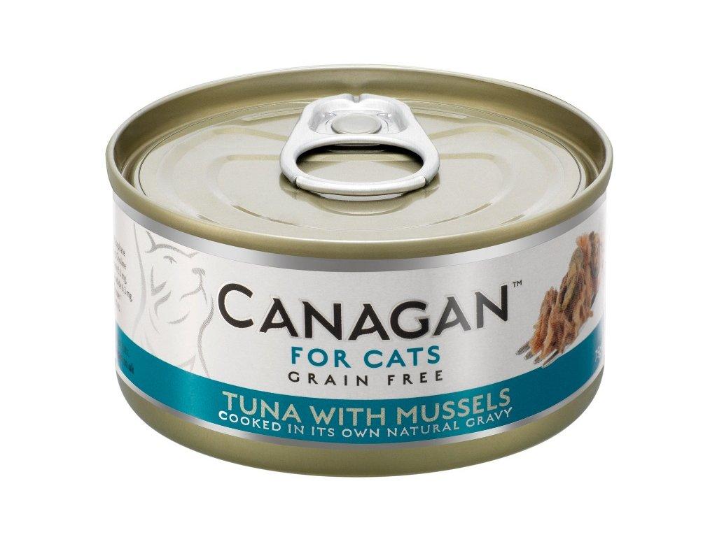 Canagan Cat konz. Tuňák a mušle 75 g