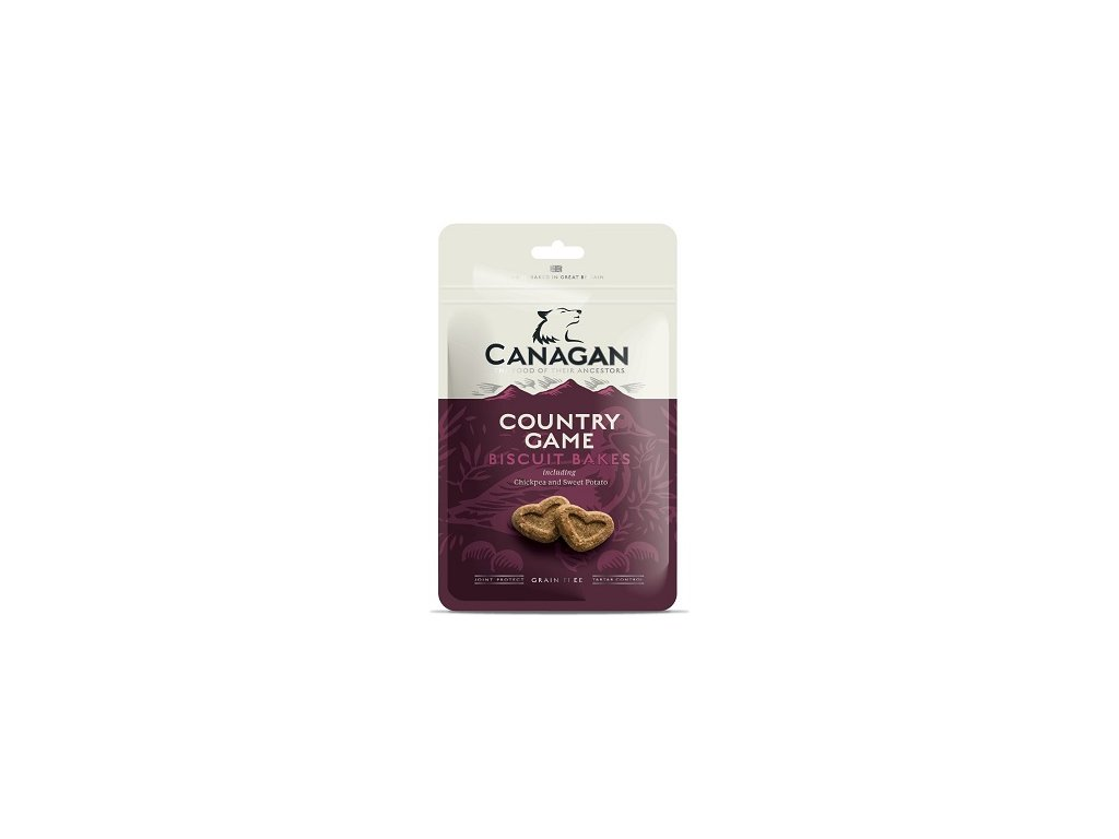 CANAGAN DOG BISCUIT BAKES COUNTRY GAME 150 G ZB000652