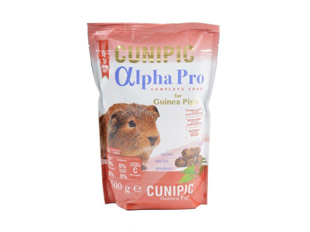 Cunipic Alpha Pro Guinea Pig morče 500 g
