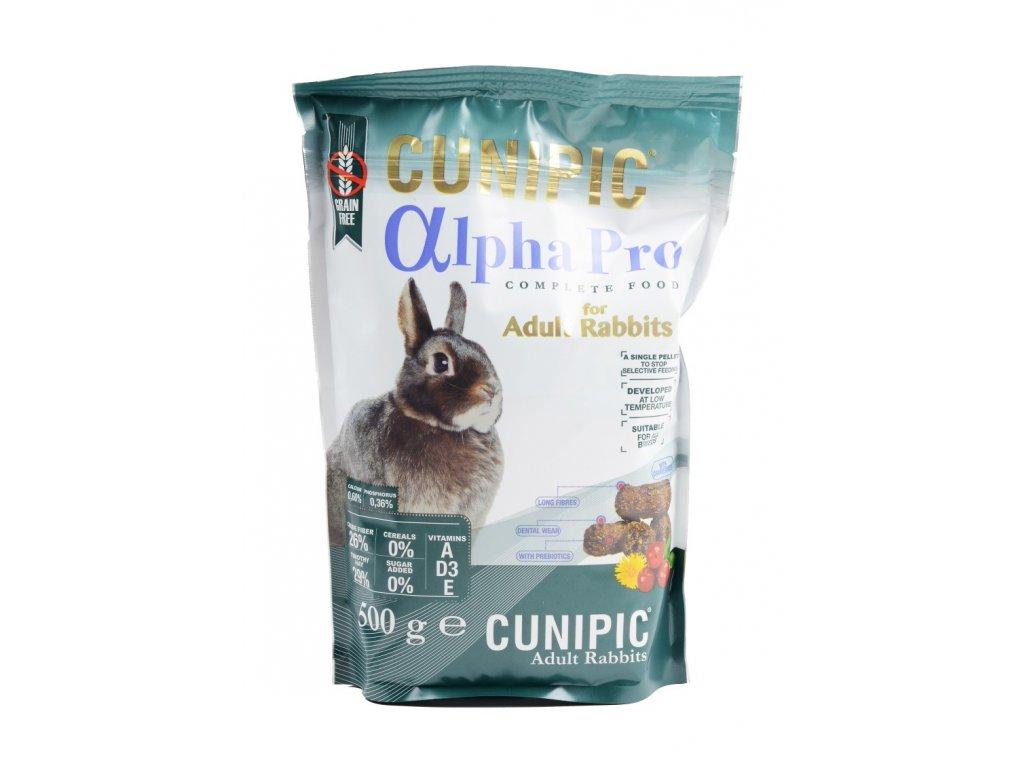 Cunipic Alpha Pro Rabbit Adult králík dospělý 500 g