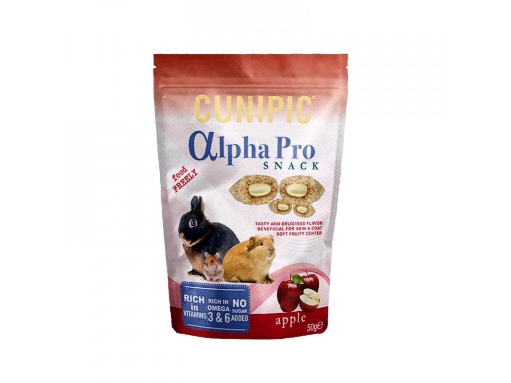 Cunipic Alpha Pro Snack Apple jablko 50 g
