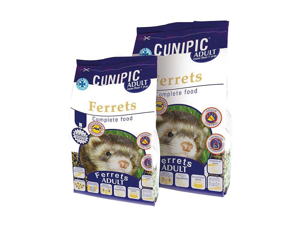 Cunipic Ferrets Adult fretka dospělá 600 g