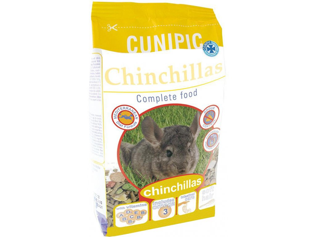 Cunipic Chinchillas Činčila 3 kg