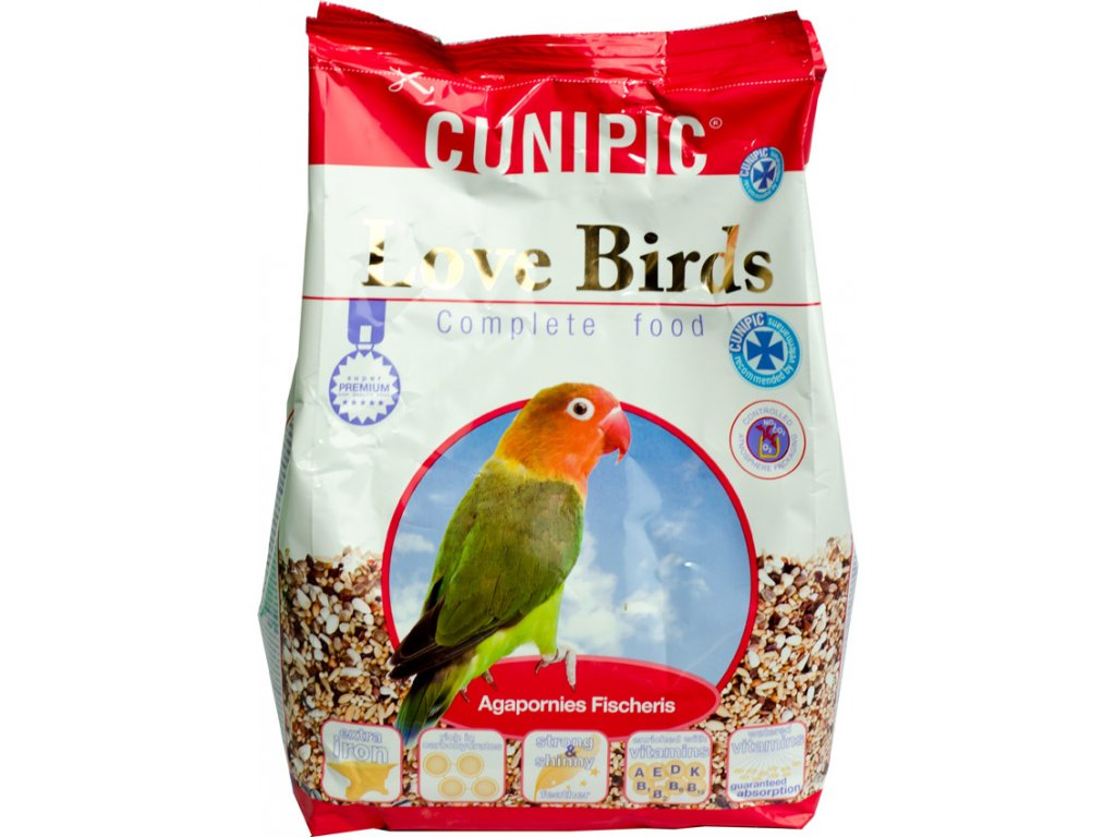 Cunipic Love Birds Agapornis 3 kg