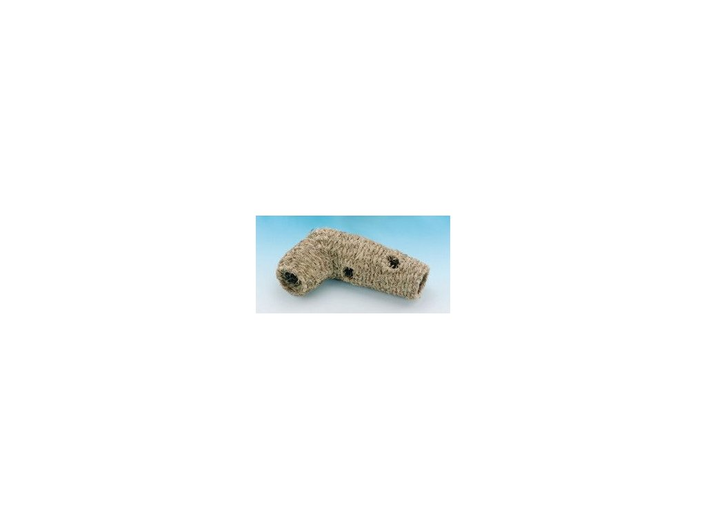 Domek seno křeček rohový Tunel L Nobby 40 cm