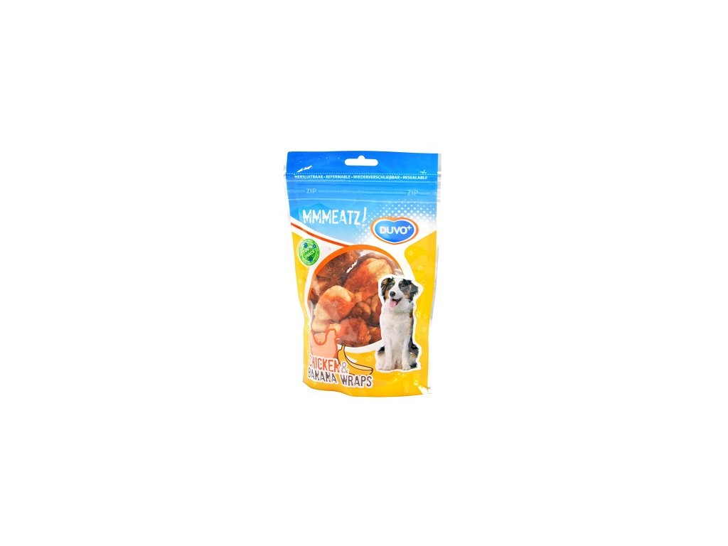 DUVO+ DOG MMMEATZ! CHICKEN & BANANA 100G ZB000793