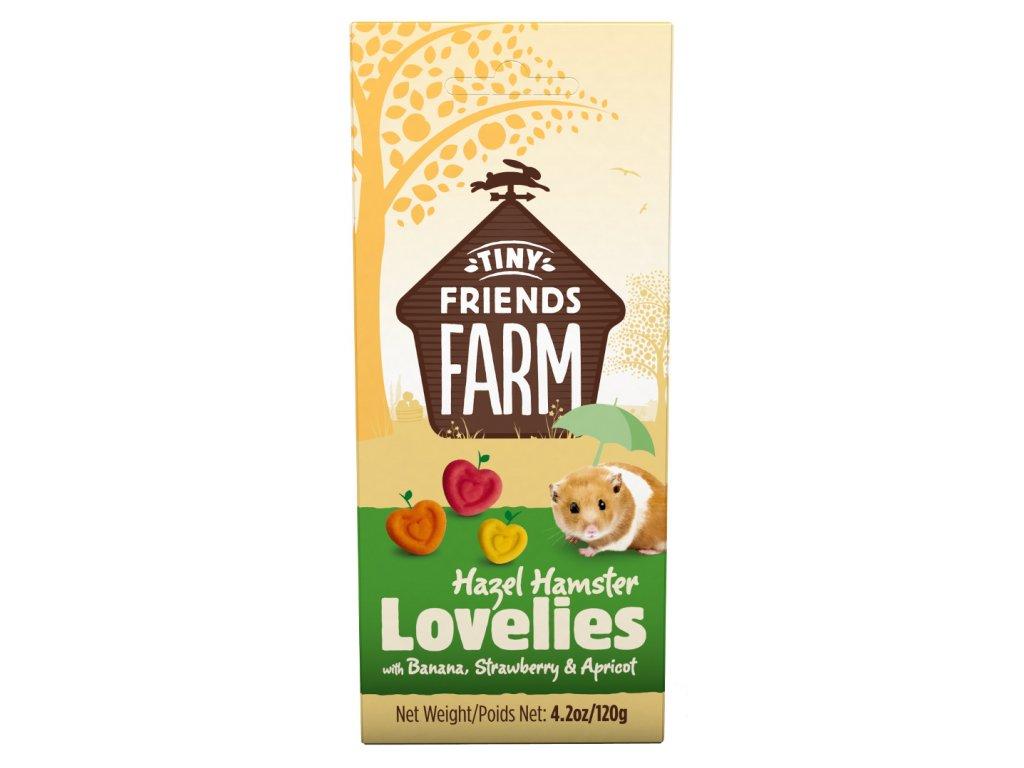 Supreme Tiny FARM Snack Hazel Lovelies křeček 120 g