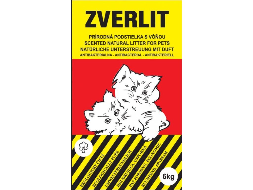 Podestýlka Cat Zverlit s vůní červená 10 kg
