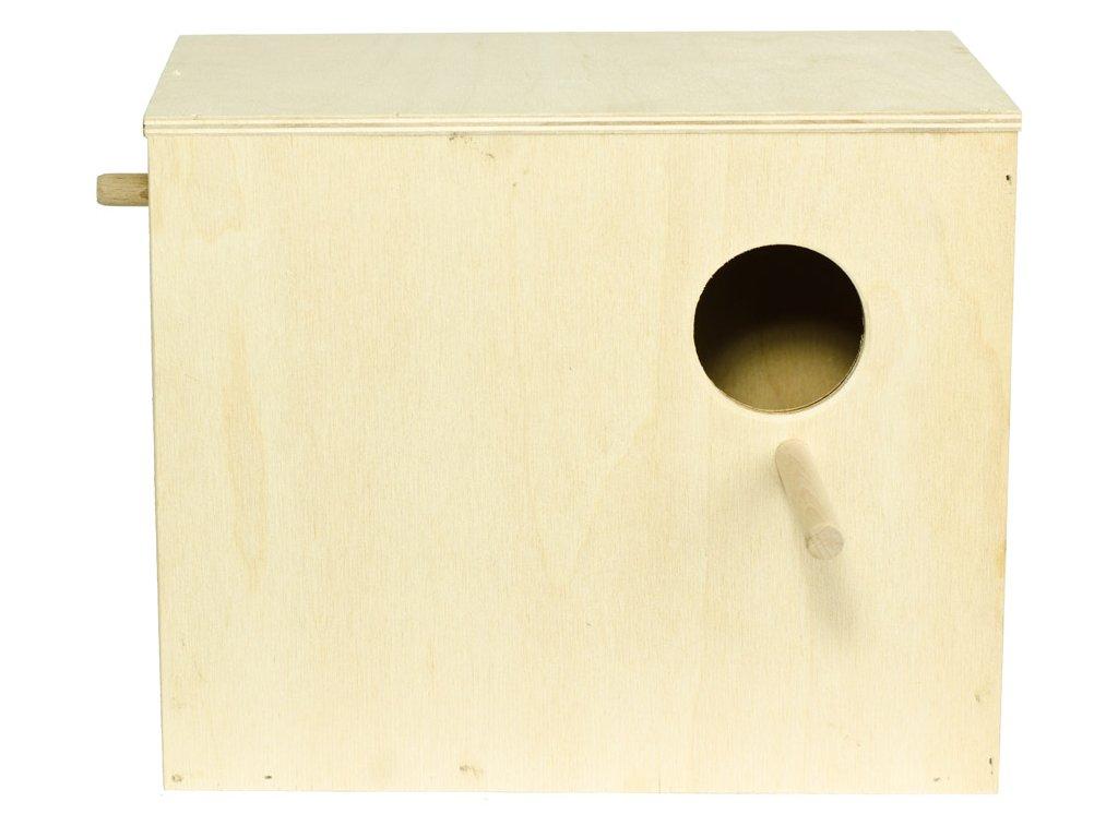 Budka hnízdící andulka 24 x 20 x 15 cm