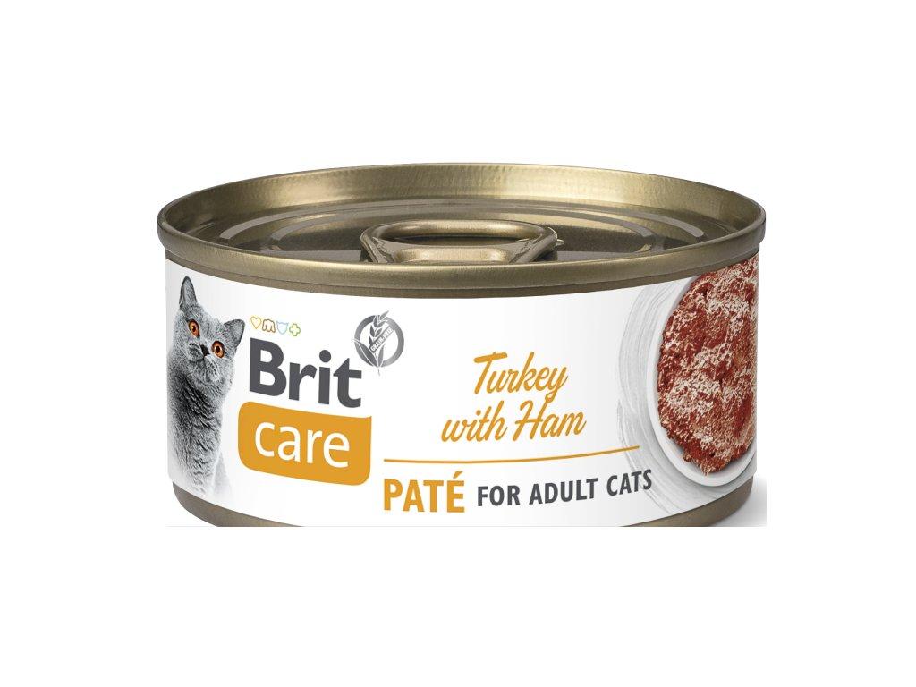 Brit Care Cat TURKEY PATÉ WITH HAM