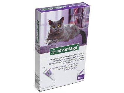 Advantage 80mg pro velké kočky a králíky
