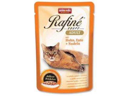 Animonda Rafiné Soupé cat kaps. kuře,kachna,těst 100 g